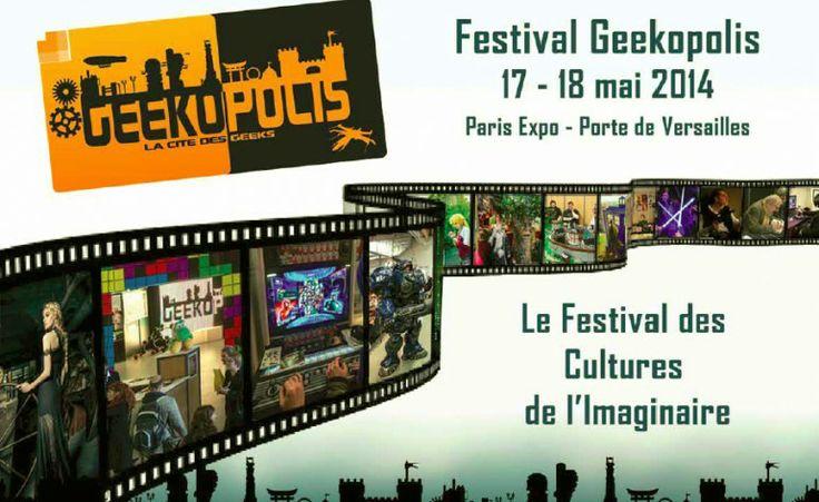 Geekopolis, on arrive ! - Les Blogueuses Du Web - #lbdw