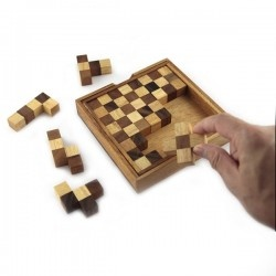 Wooden Puzzles : Wooden Puzzles - Pentominoes Chess Puzzle