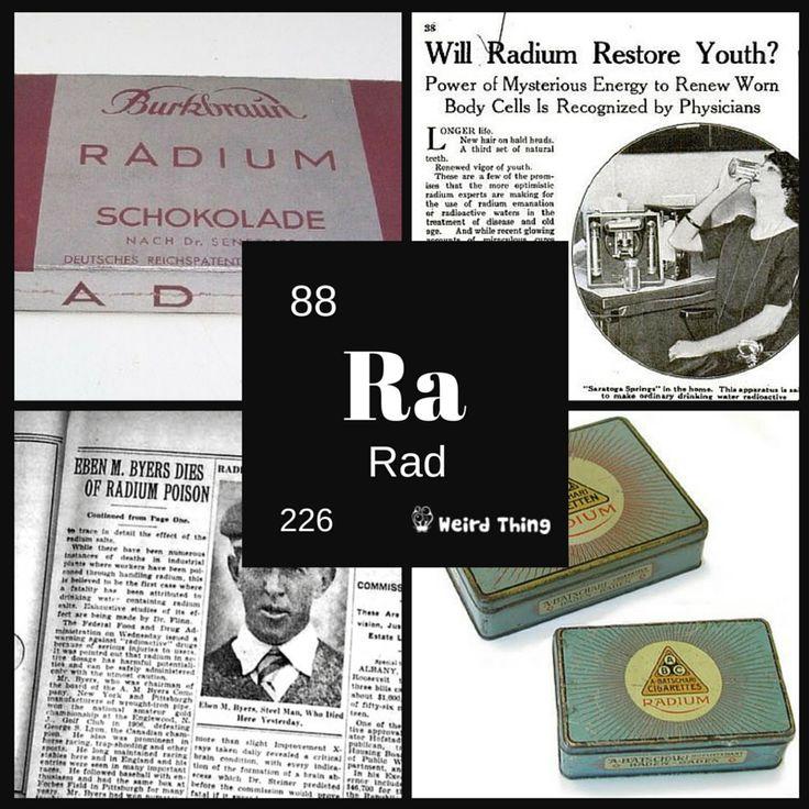 Czekolada z radem, pasta do zębów, od której miało się promieniujący (dosłownie) uśmiech, radioaktywne papierosy i człowiek, który skończył w ołowianej trumnie - zobaczcie, jak wykorzystywano promieniotwórczy rad na początku XX wieku.  http://weirdthing.pl/radowe-panaceum/  #medicine #radioactive #science