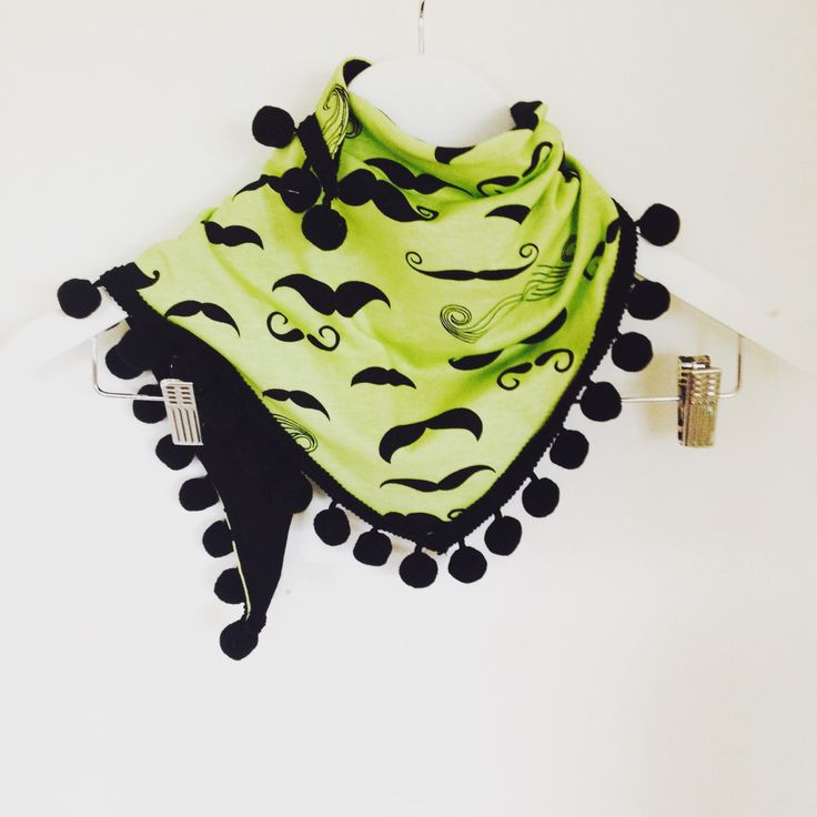 scarf with pompons by FamStyle on Etsy