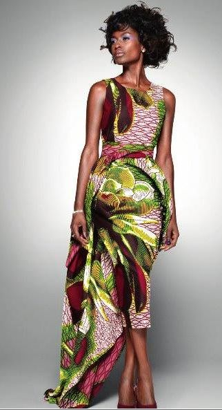 Lovely Vlisco dress. I would wear this anyday. A just because dress. ;-) VG #ColorMePrint  www.vlisco.com/‎