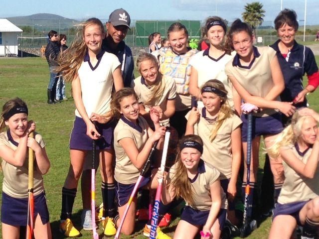 U12 Hockey Girls Tops Against Van Riebeeckstrand  
