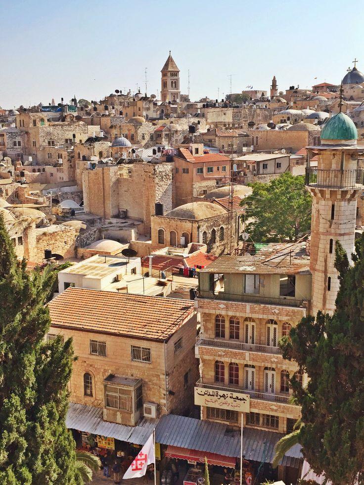 Old City, Jerusalem, by Jeremiah Christopher