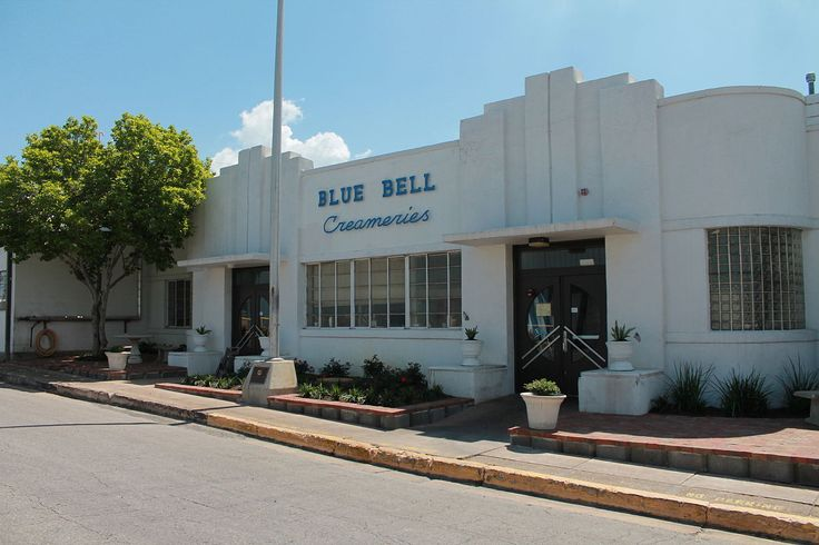 Blue Bell Creameries Complex in Washington County, Texas.