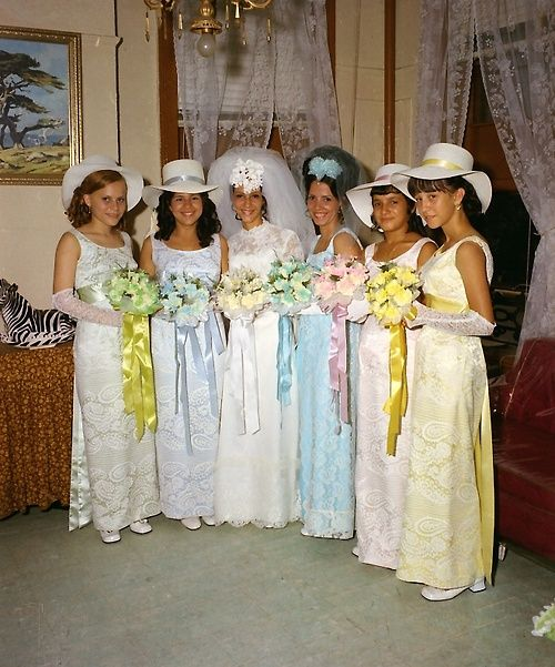 1960 Bridesmaid Dresses