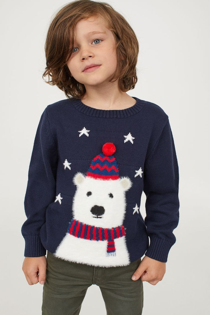 Little boy outfits | Fine knit sweater, Sweaters, Knitted