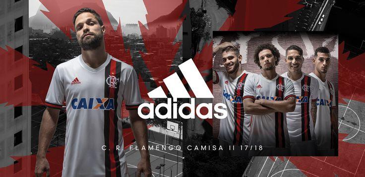 Camisa reserva do Flamengo 2017-2018 Adidas