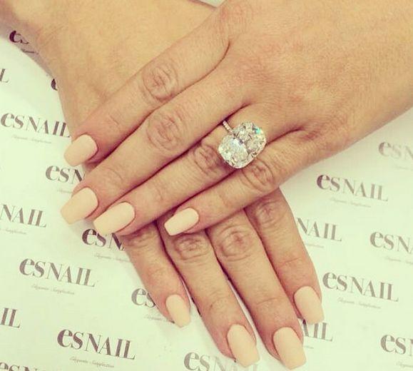 Kim Kardashian's ring from Kanye West | Lorraine Schwartz 15 carats, estimated $8 million