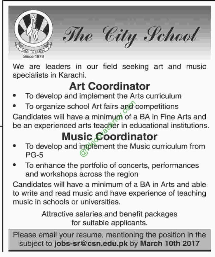The City School Lahore ,Islamabad, Karachi Jobs 2017 Jobs In   G4s Security  Officer  Security Guard Sample Resume