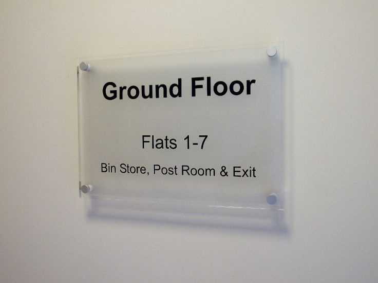 Office Wall Signs Ground Floor Level Signage Http Www