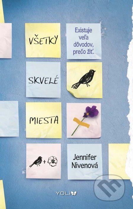 Theodora Fincha trápia depresie. Každý deň premýšľa nad smrťou, no zároveň hľadá dôvody, prečo žiť. Violet Markeyová ráta dni do maturity, aby mohla ujsť z malého mesta, kde ju prenasledujú bolestné spomienky na sestrinu tragickú smrť... (Kniha dostupná na Martinus.sk so zľavou, bežná cena 12,90 €)
