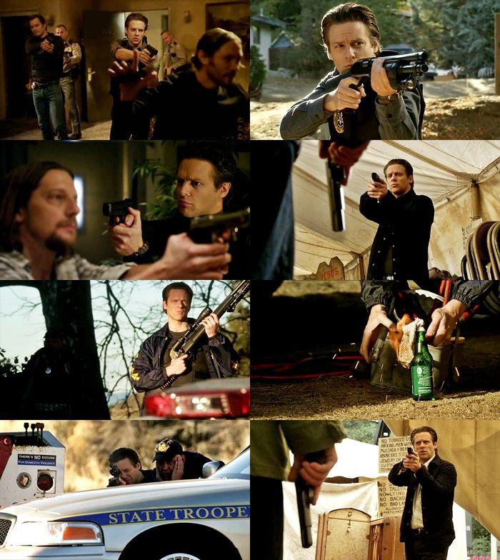 """ Tim Gutterson's badass moments in Justified Season 4 """