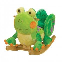 RockAbye Fergie Frog Rocker.   This is pretty darn cool for the little ones!   Ribbit!