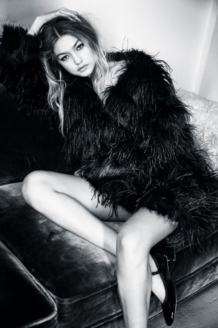 Gigi Hadid for Vogue UK January 2016