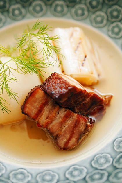 自家製ベーコンと根菜のポトフ:アップ