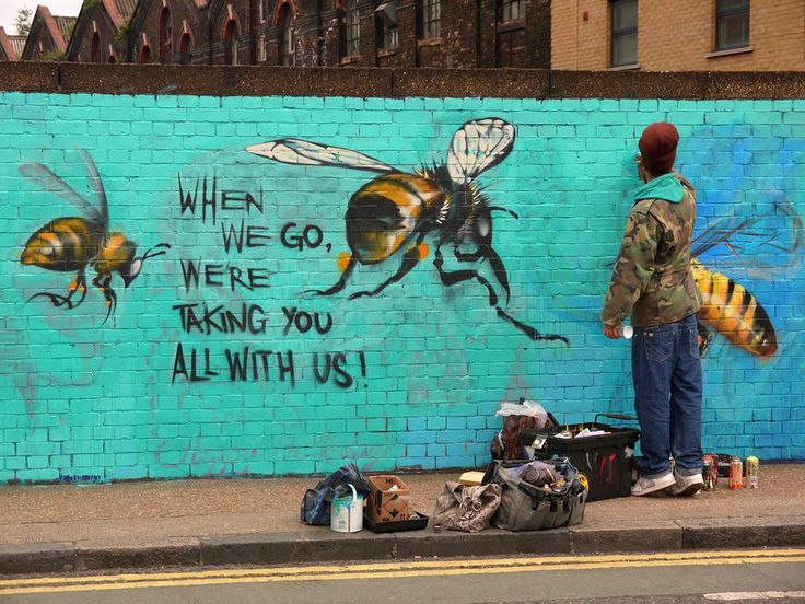 Best Murals And Street Art Around The World Images On - People cant decide if theyre ok with this street artists ironic messages