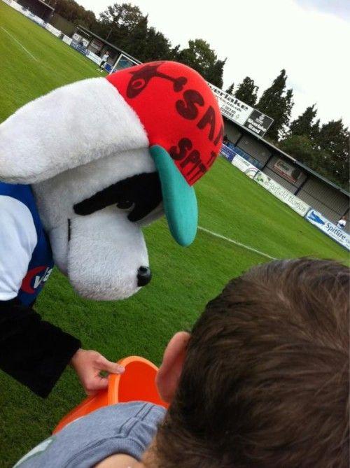 Spitfire the Dog, Eastleigh FC