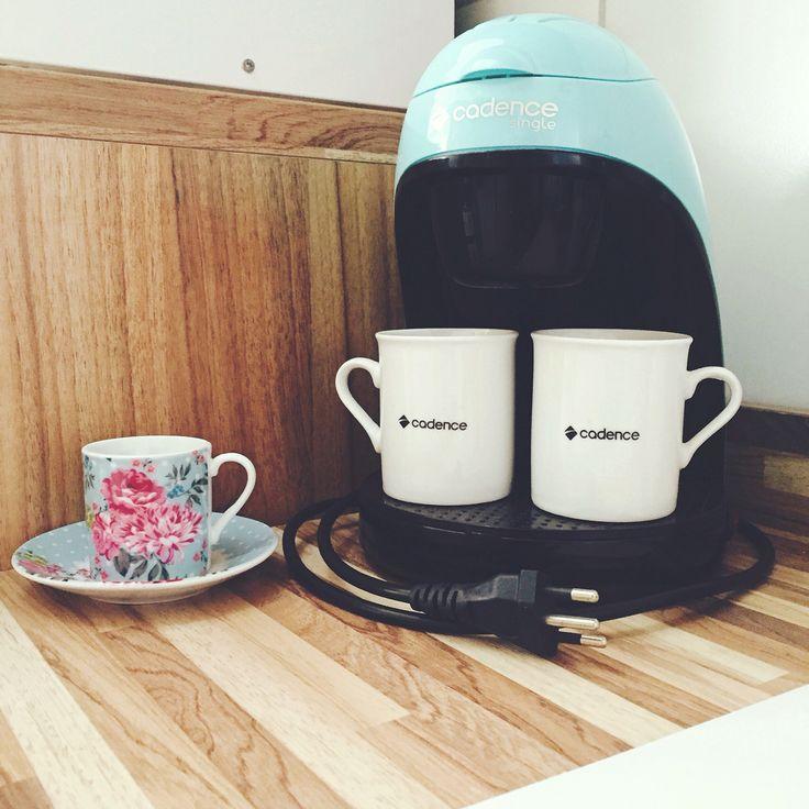 Minha cafeteira cadence. #café #coffee #cafeteira #cadence #cozinha