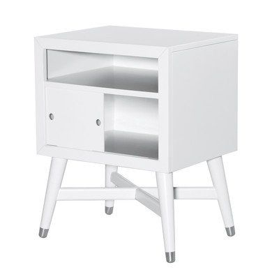 MidCentury French White Nightstand -- Find out more about the great product at the image link.