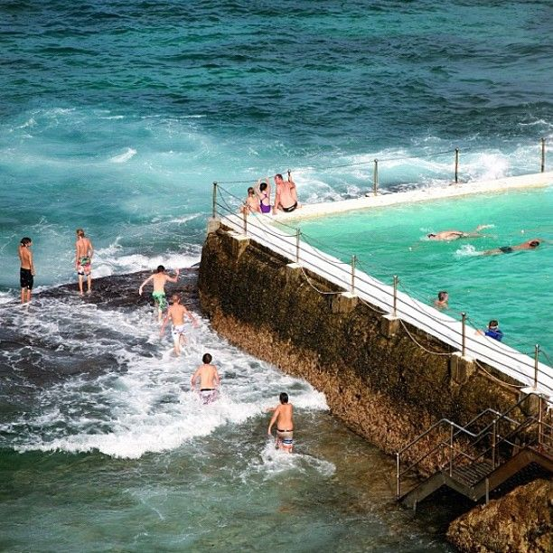 Bondi Icebergs Pool Bondi Beach #Sydney #Australia