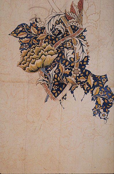 394px-Morris_Windrush_textile_design_1881-83