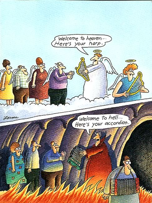 the far side cartoons in color