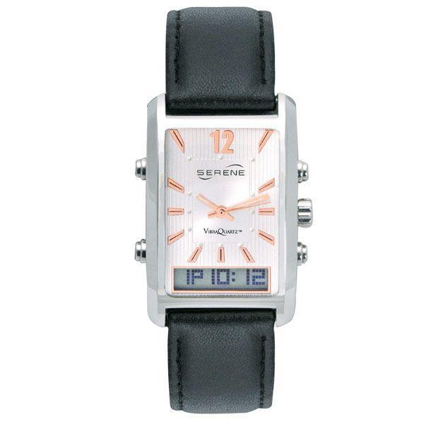 Vibrating Alarm Dress Watch - Vibrating Watches - MaxiAids
