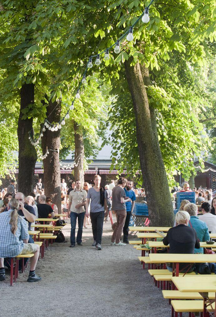 Prater Biergarten Prenzlauer Berg.
