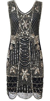 A flapper dress for anyone who wishes they had been born in the the Roaring Twenties. | 29 Formal Dresses You Can Get On Amazon That You'll Actually Want To Wear