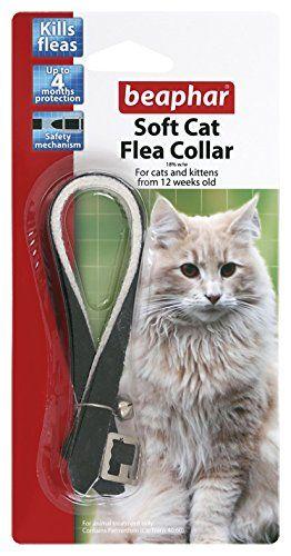 Beaphar Cat Flea Collar Velour (Pack of 12)