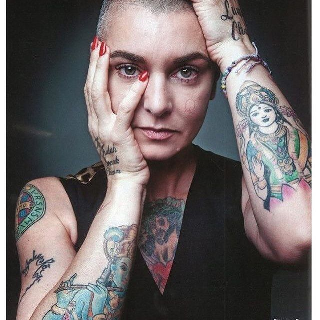 I love Sinead O'Connor so much. You can hear her music blaring from my house on any given day. She is one of my #muses I adore you @sineadoconnorofficial 😘 #music #sineadoconnor #nothingcompares2u #goddess #legend #irish #rebelheart