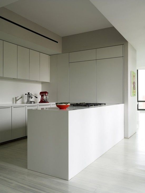 White Wooden Floor Design