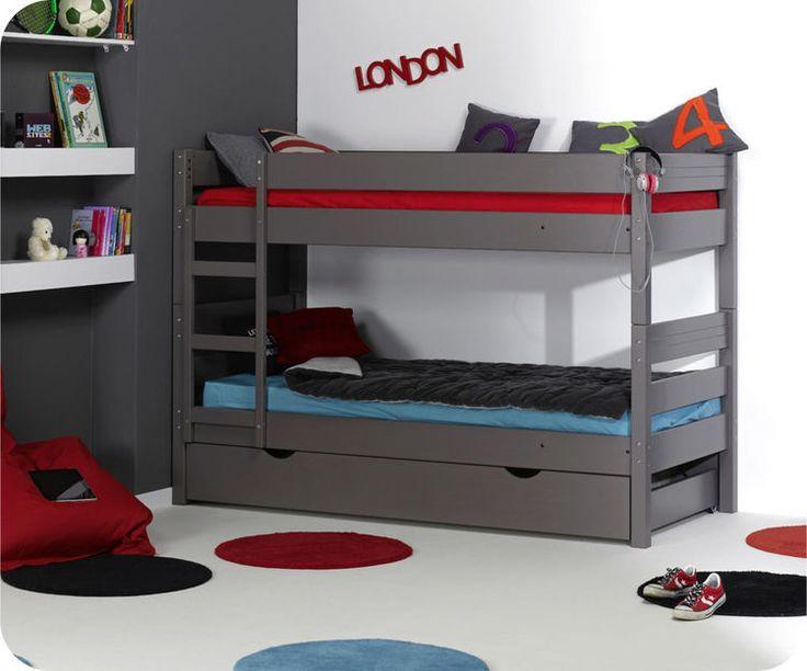 Lit superposé enfant 1,2,3 couleur Taupe http://www.machambredenfant.com/s/11895_71237_lit-superpose-enfant-123-couleur-taupe 566€