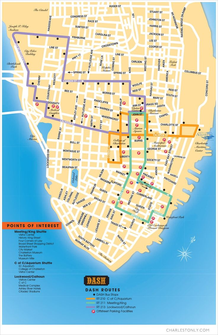 One of the most convenient ways to travel across downtown Charleston is aboard a DASH Trolley, the free hop-on, hop-off shuttle that delivers passengers to shops, restaurants, and attractions across the peninsula. Stop by the Official Charleston Area Visitor Center at 375 Meeting Street to pick up a DASH Trolley map or simply look for …