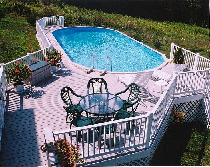 Best Above Ground Swimming Pools Images On Pinterest Pool