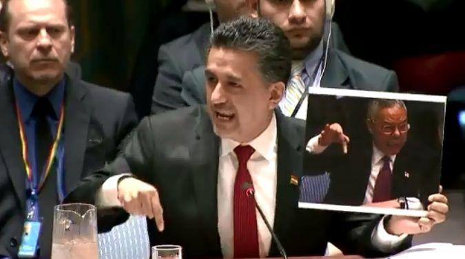 BM'nin Bolivya temsilcisi net konuştu: Irak'ta 1 milyon kişiyi öldürmüştünüz