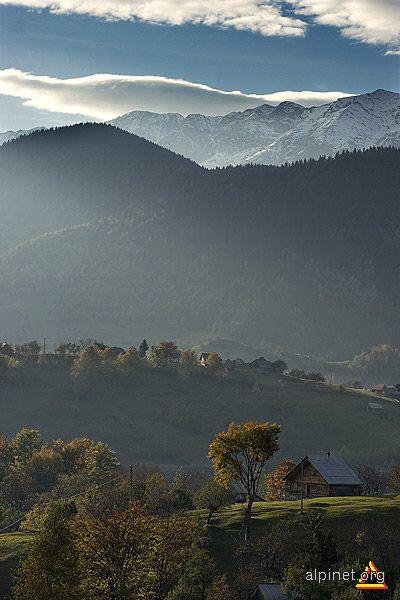 Fall in Piatra Craiului Mountains, Romania