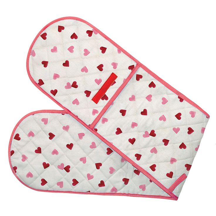 Pink Hearts Double Oven Gloves 2013 for £15.00 #fabfind