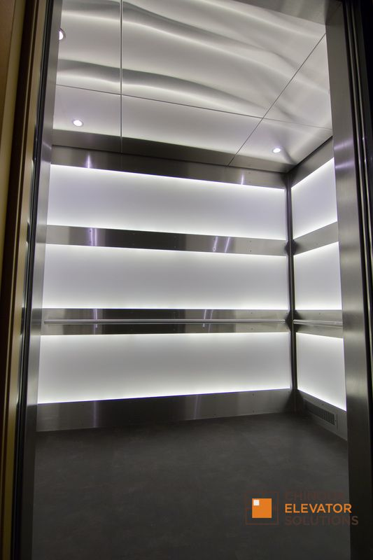 32 best elevator interior design by chinook elevator for Interior lighting design standards