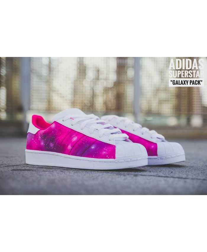 watch 9d337 9532f Adidas Superstar Pink Galaxy Pack Sale