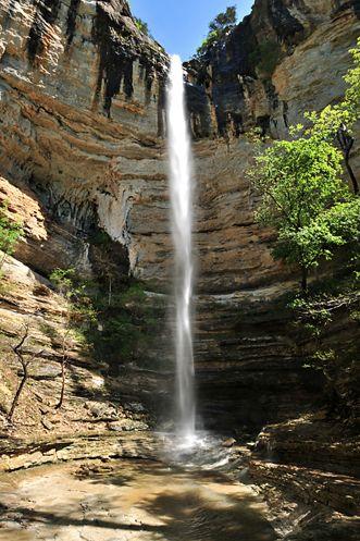 Hemmed-In Hollow Falls