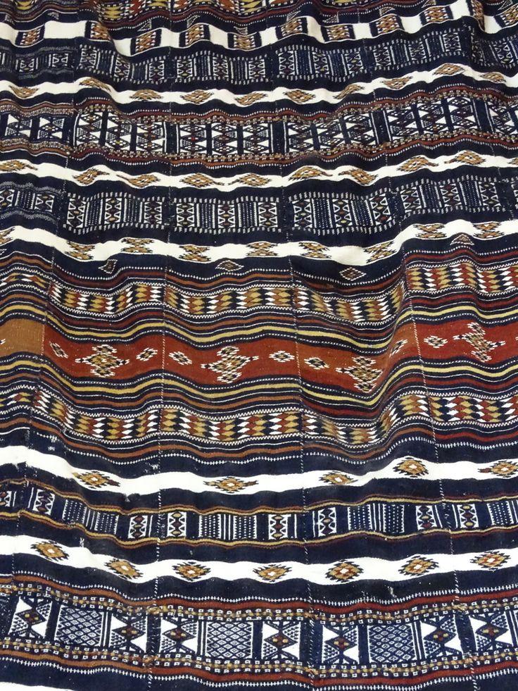 Wedding blanket from Niger at Kim Sacks Galerly in Johannesburg