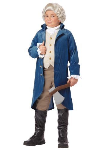 Great boys costume. This is originally a George Washington costume but we just won't use the wig. It's the perfect outfit. $28.99 halloweencostumes.com