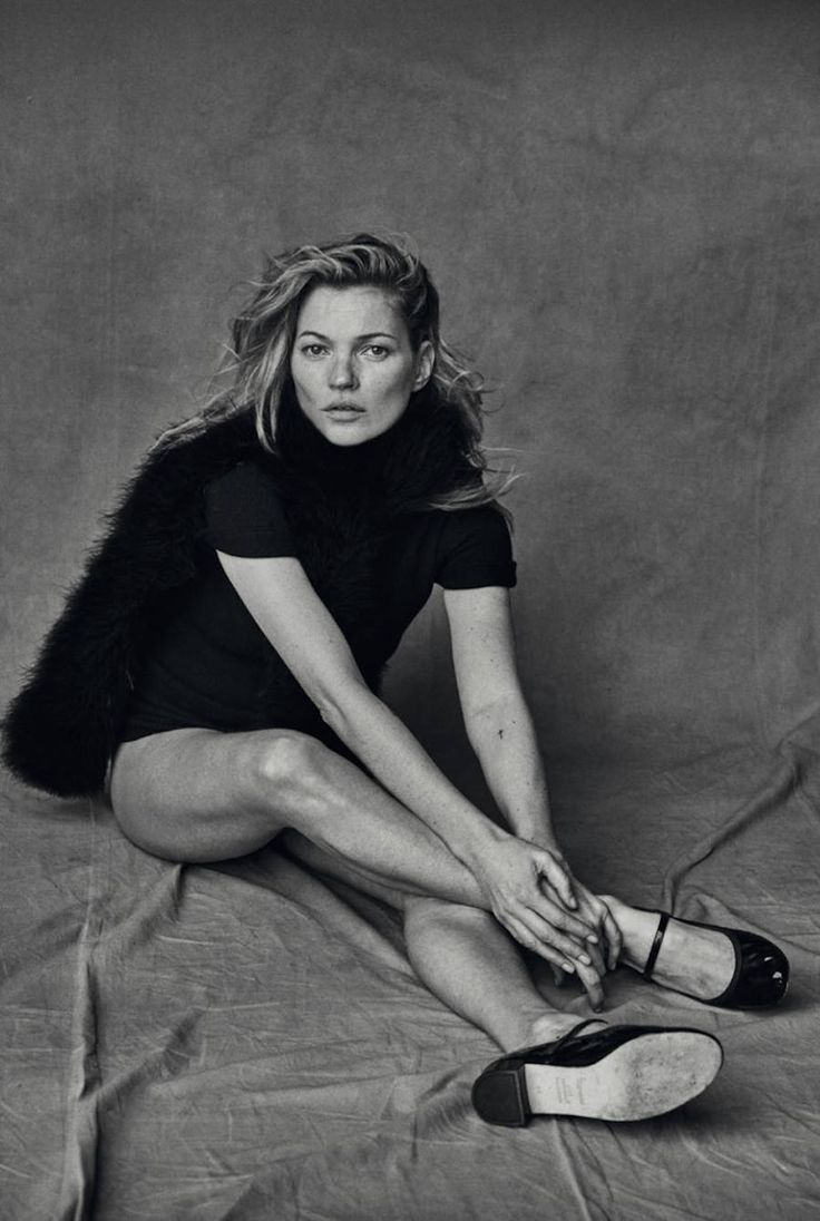 Kate Moss Unphotoshoped Portraits by Peter Lindbergh – Fubiz Media