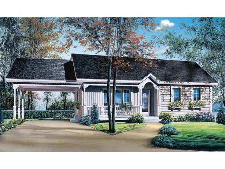 Idea by Amy Jones on Car ports Ranch style house plans