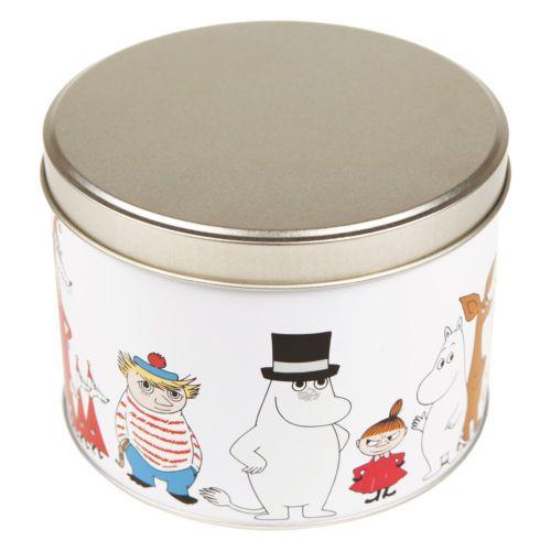 Moomin-Characters-Tin-Can-Round-Mamma-Pappa-Troll-Stinky-Martinex-Finland