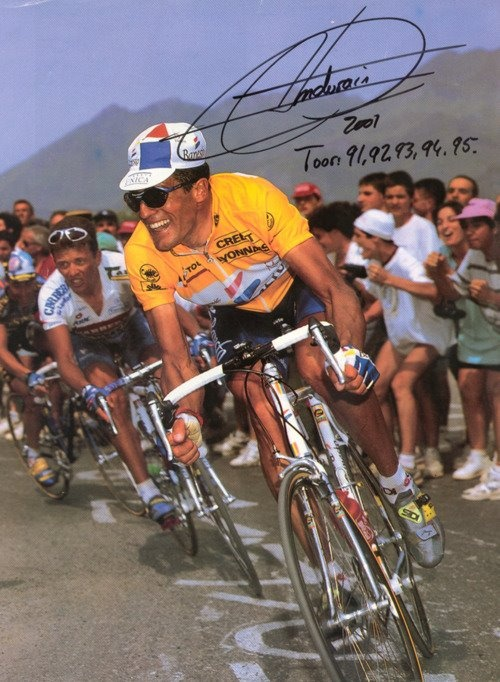MIguel Indurain - Five Time Tour de France winner