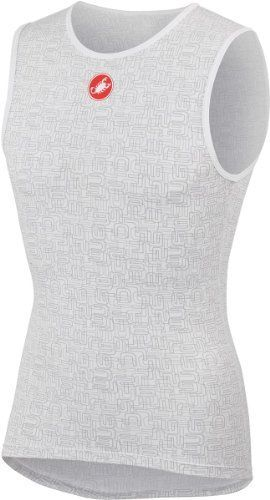 Castelli Prosecco Ice Base Layer  Sleeveless  Mens White XL *** Check out this great product.