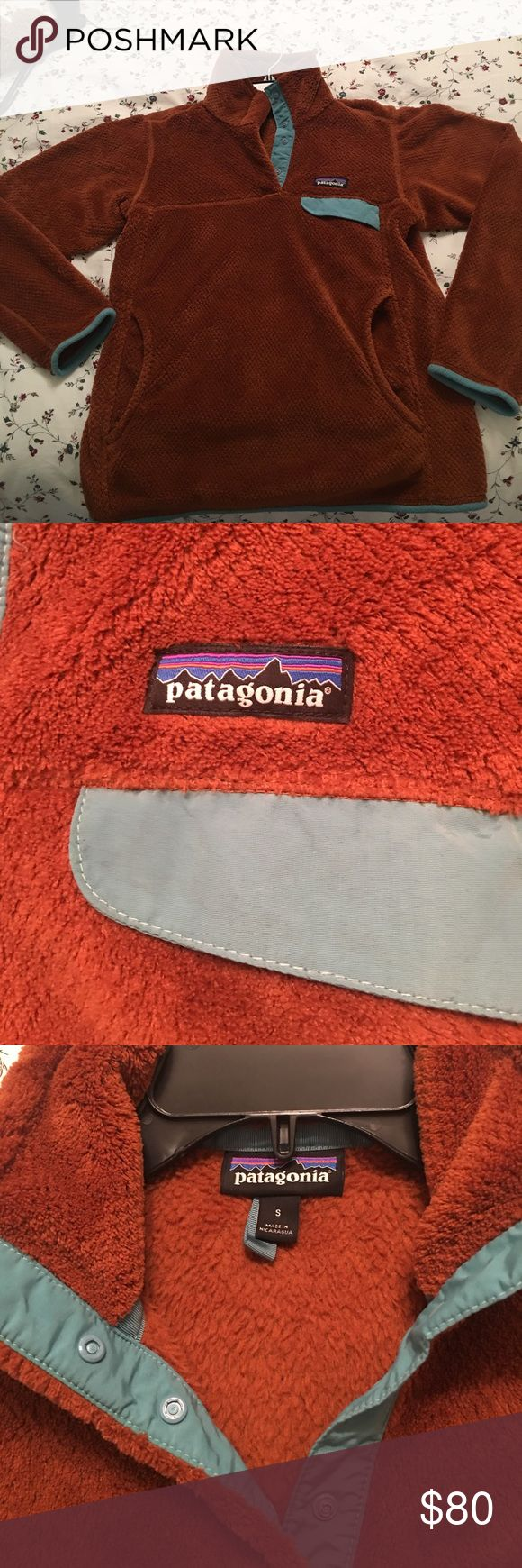 Patagonia NWOT Pullover NWOT  dark rusty color almost brown but a tint of orange, super super pretty color Patagonia Other