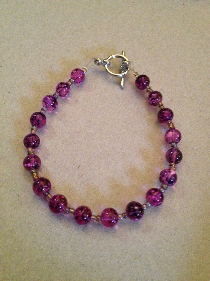 Bracelet to match previous earrings